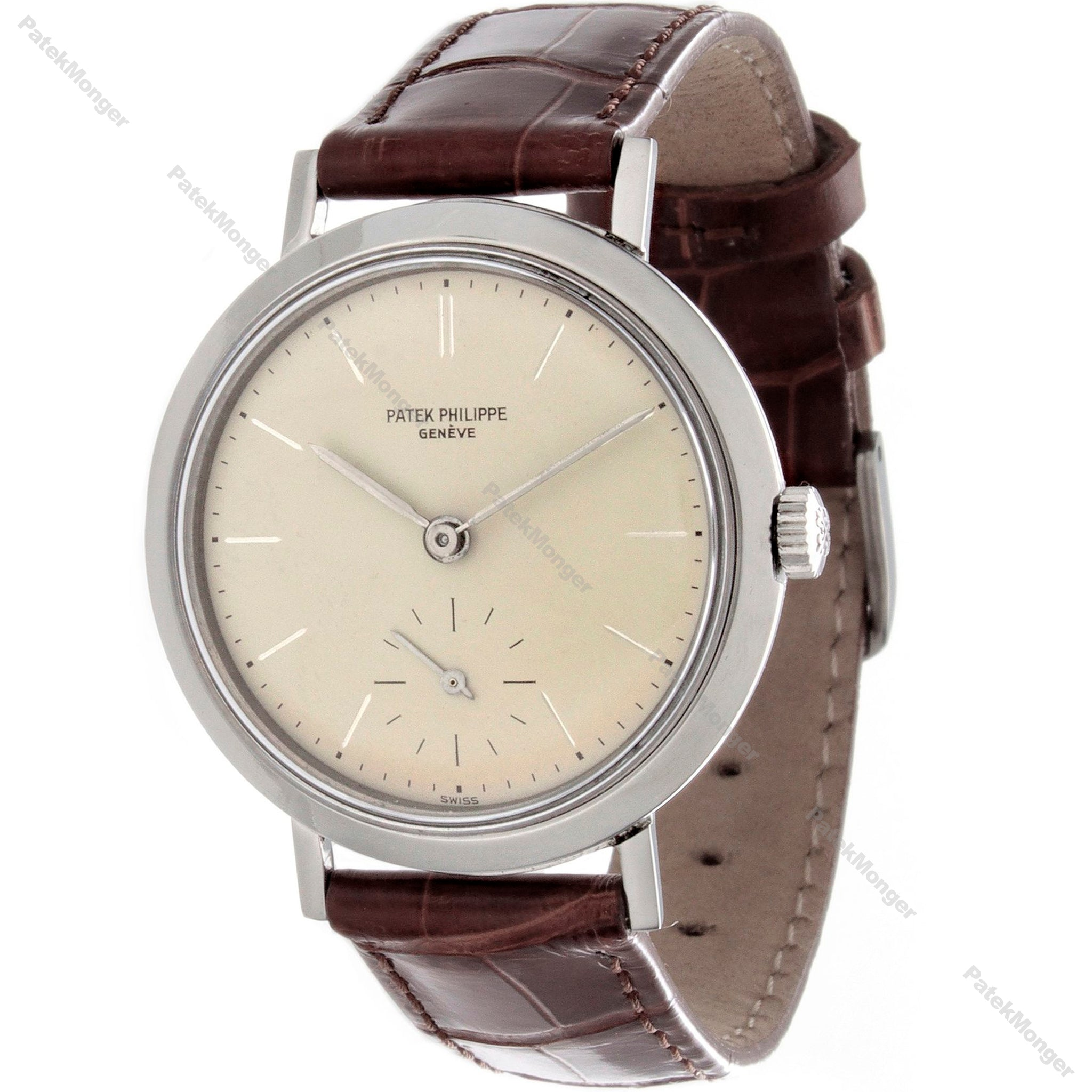 Patek Philippe 3419A Stainless Steel Calatrava Watch