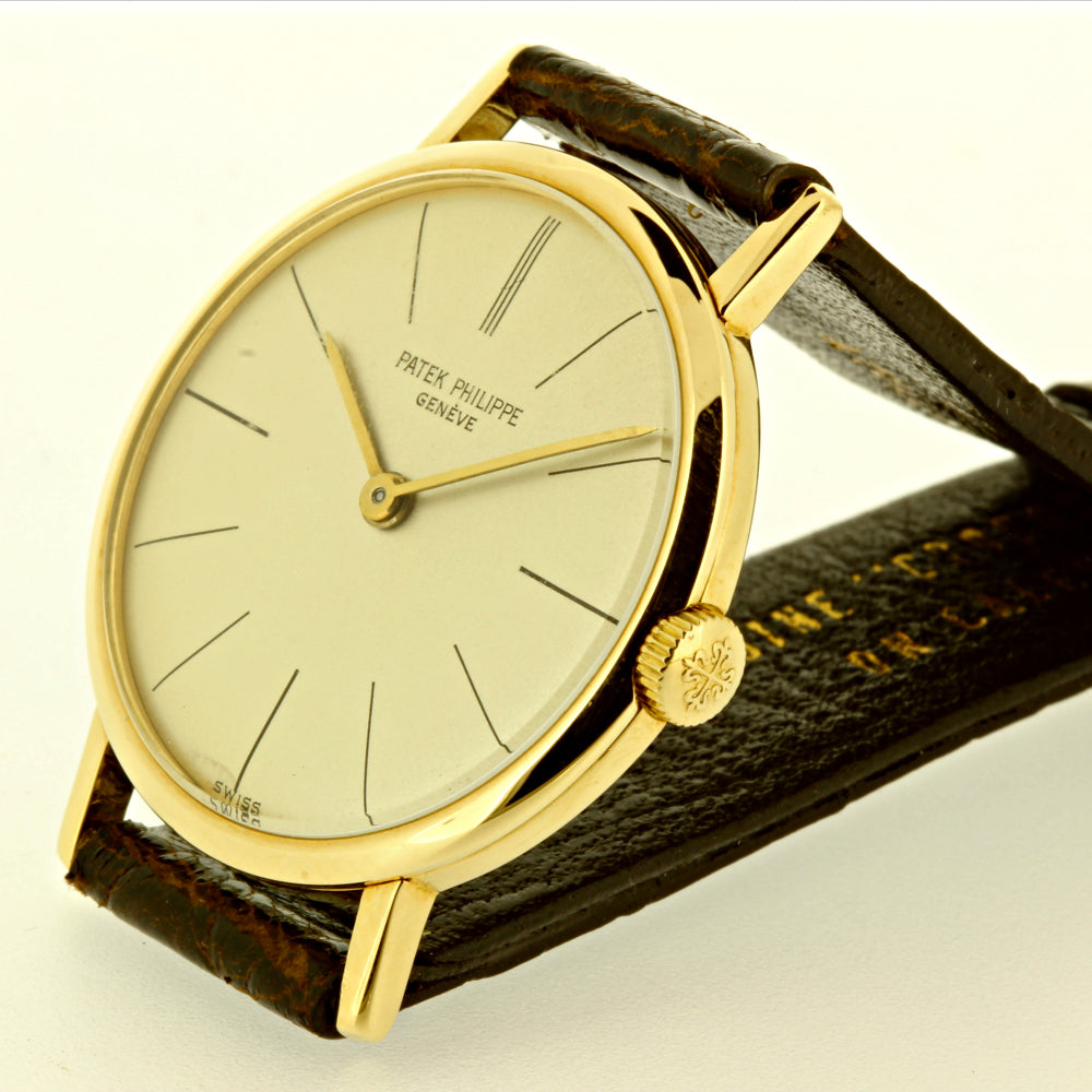 Patek Philippe 3442/1J Calatrava Watch