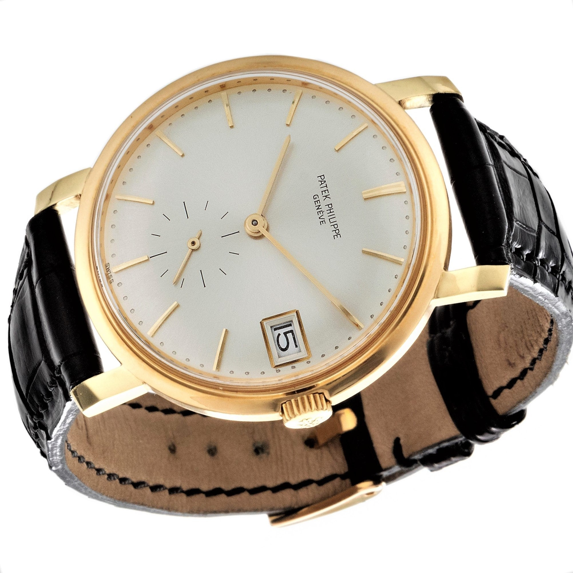 Patek Philippe 3445J Automatic Calatrava Watch