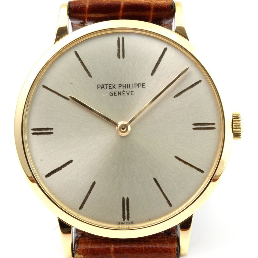 Patek Philippe 3468J Calatrava Watch Circa 1965