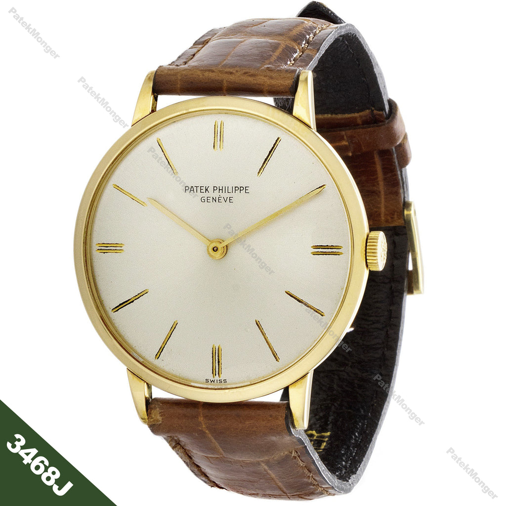Patek Philippe 3468J Calatrava Watch circa 1968