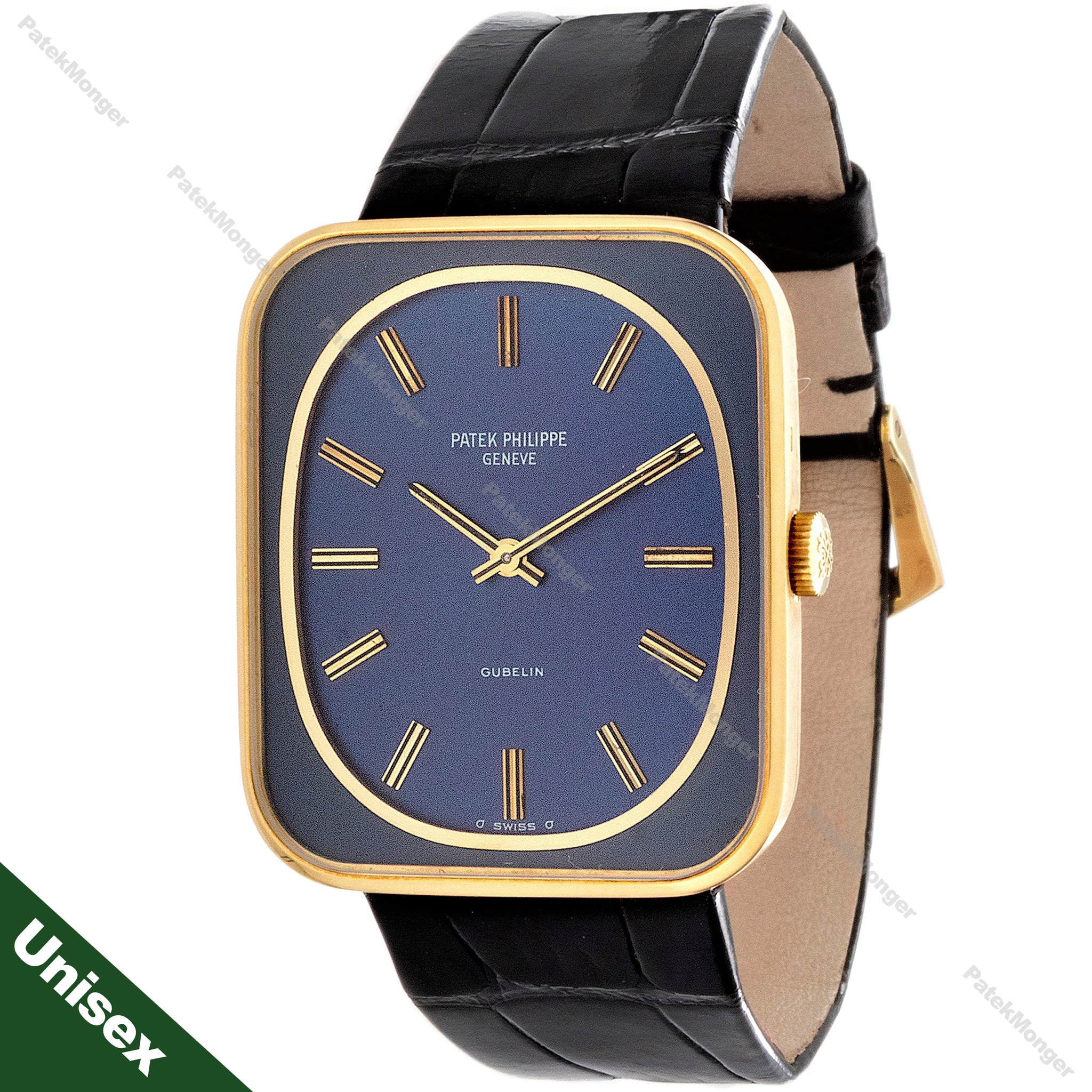 Patek Philippe 3582J Blue Dial Gondolo Watch