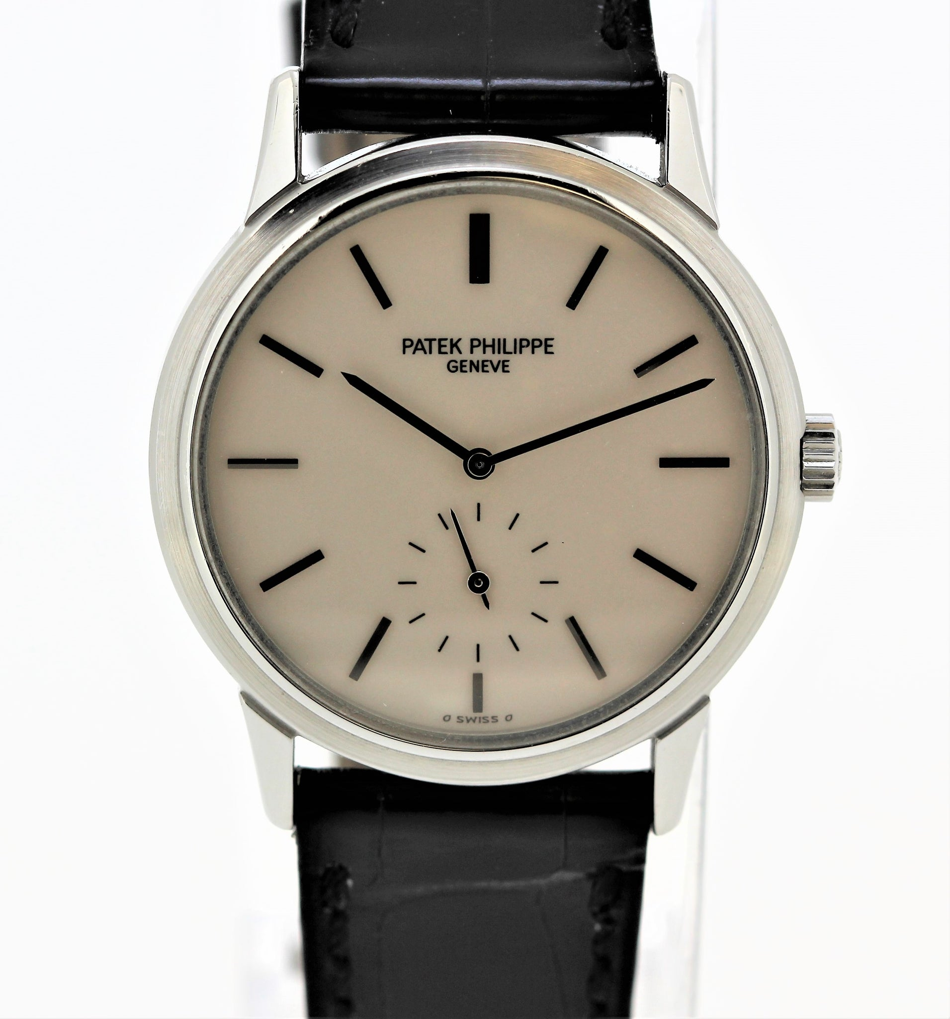 Patek Philippe 3718A ,  Stainless steel wristwatch, made for the Japanese market to commemorate the 150 Th Anniversary of Patek Philippe in 1989.