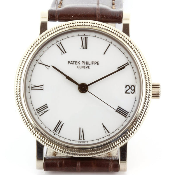 Patek Philippe 3802-200G Calatrava Watch