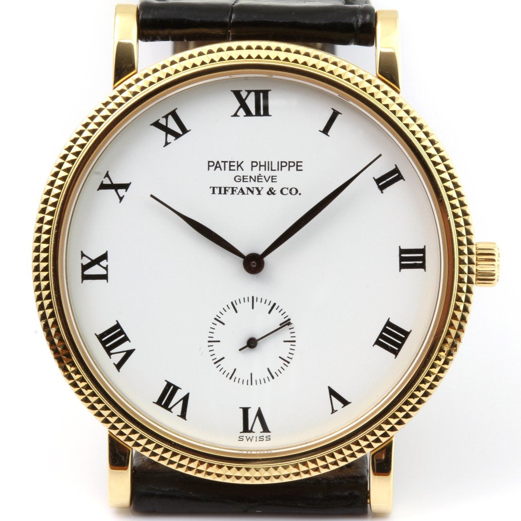 Patek Philippe 3919J Tiffany And Co. Calatrava Watch