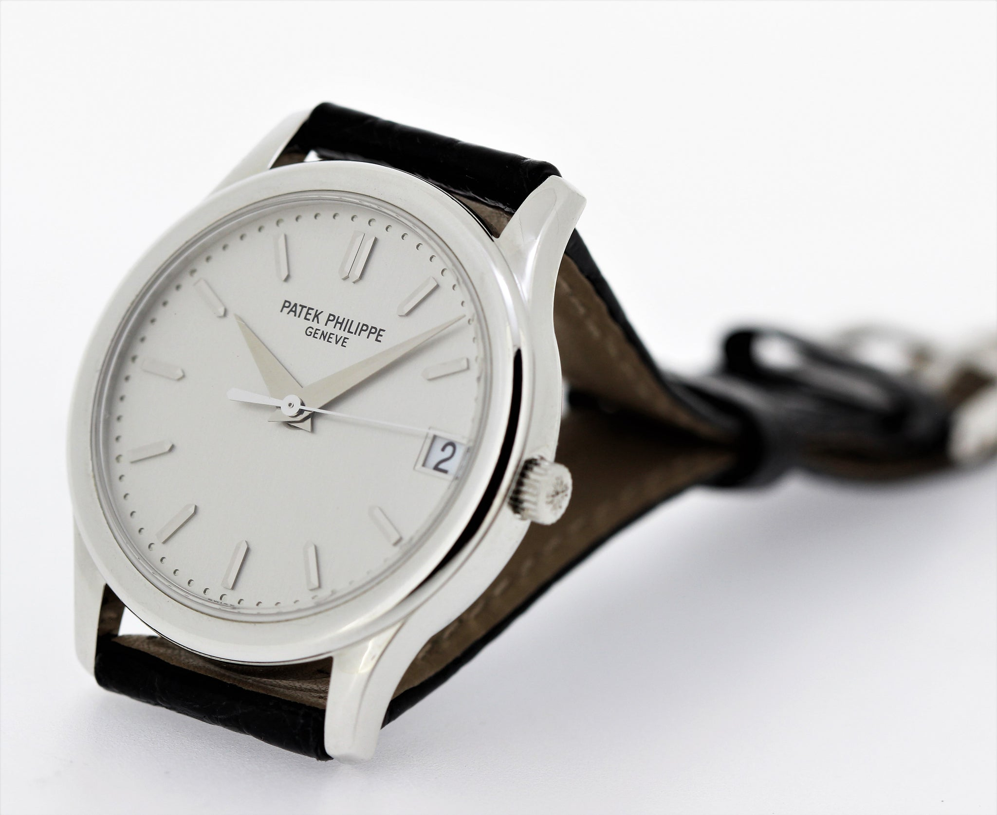 Patek Philippe 3998G Automatic Calatrava Watch Circa 2002