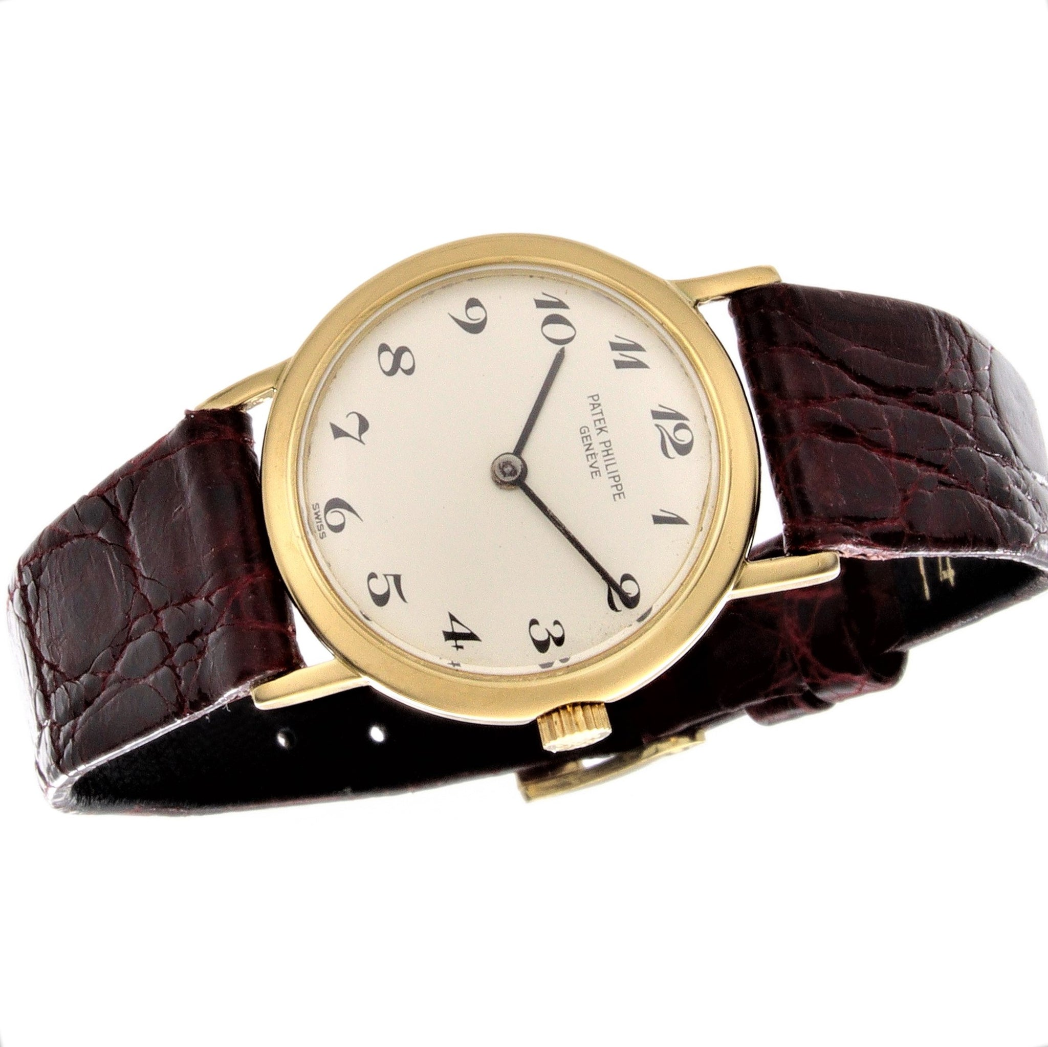 Patek Philippe 4184J Ladies Calatrava Watch 25 mm Breguet Dial Circa 1975