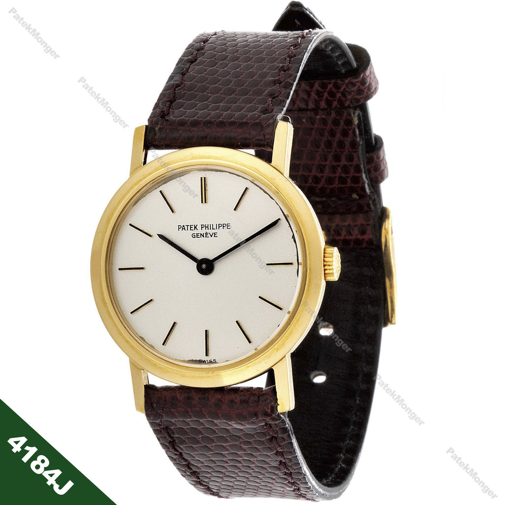 Patek Philippe 4184J Vintage Ladies Calatrava Watch circa 1970