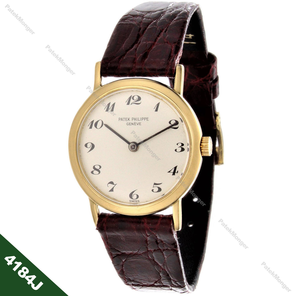 Patek Philippe 4184J Vintage Ladies Calatrava Watch circa 1975