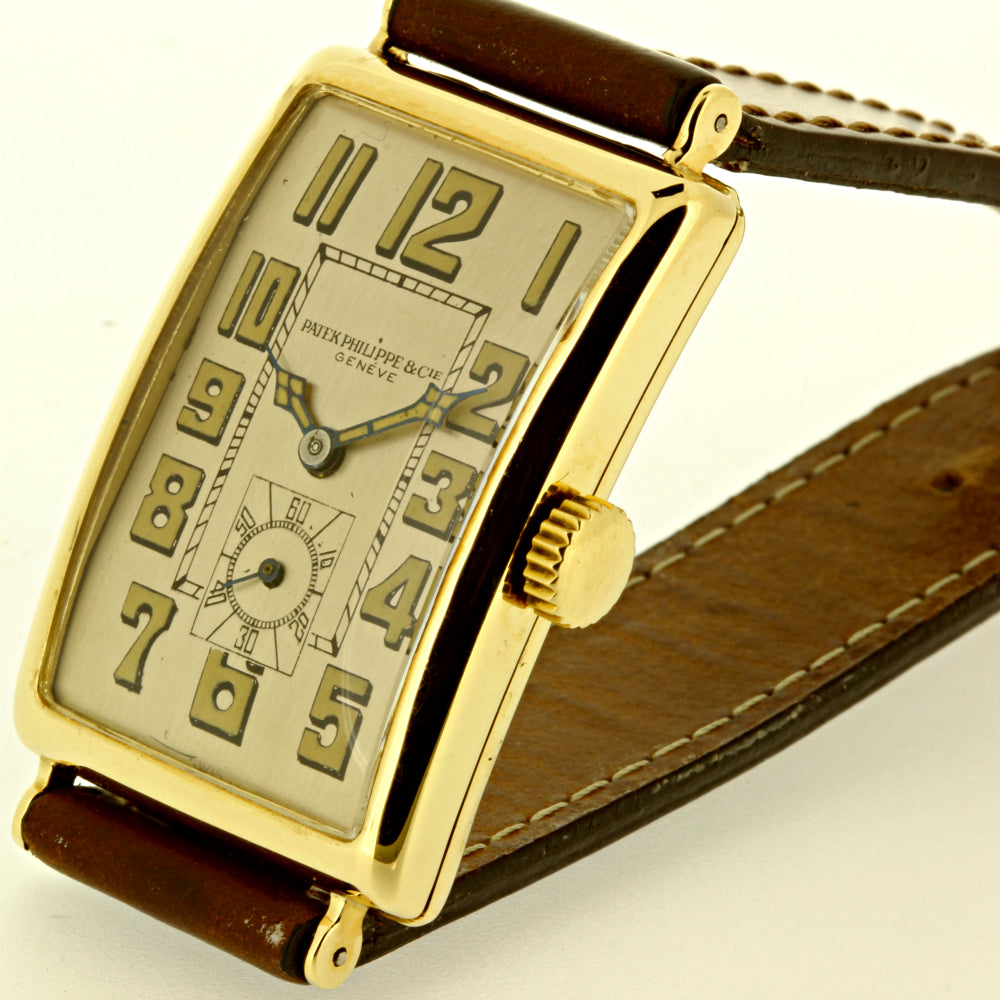 Patek Philippe 431J Extra Large Rectangular Art Deco Watch