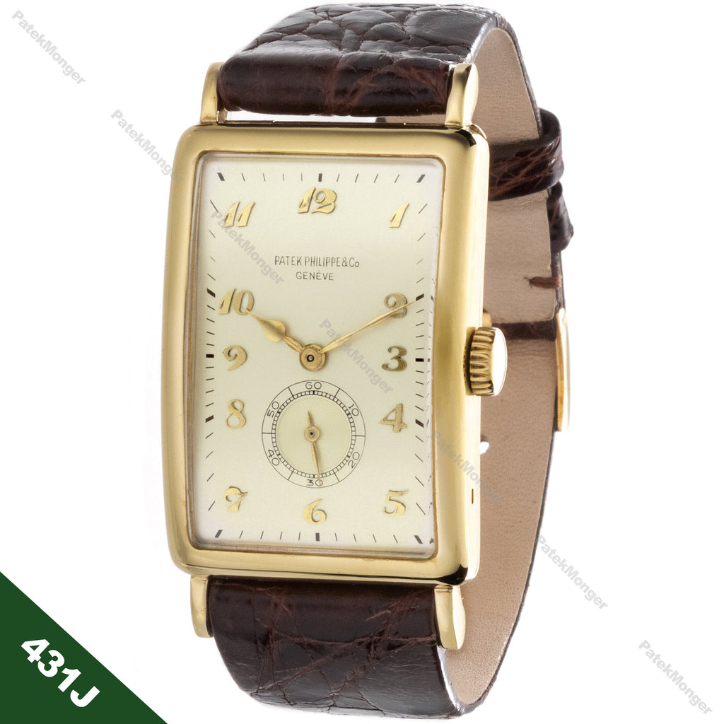 Patek Philippe 431J Art Deco Watch circa 1947