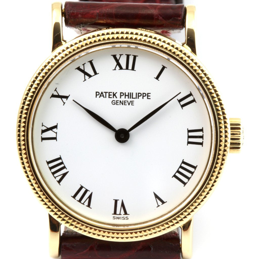 Patek Philippe 4809J Ladies Calatrava Watch