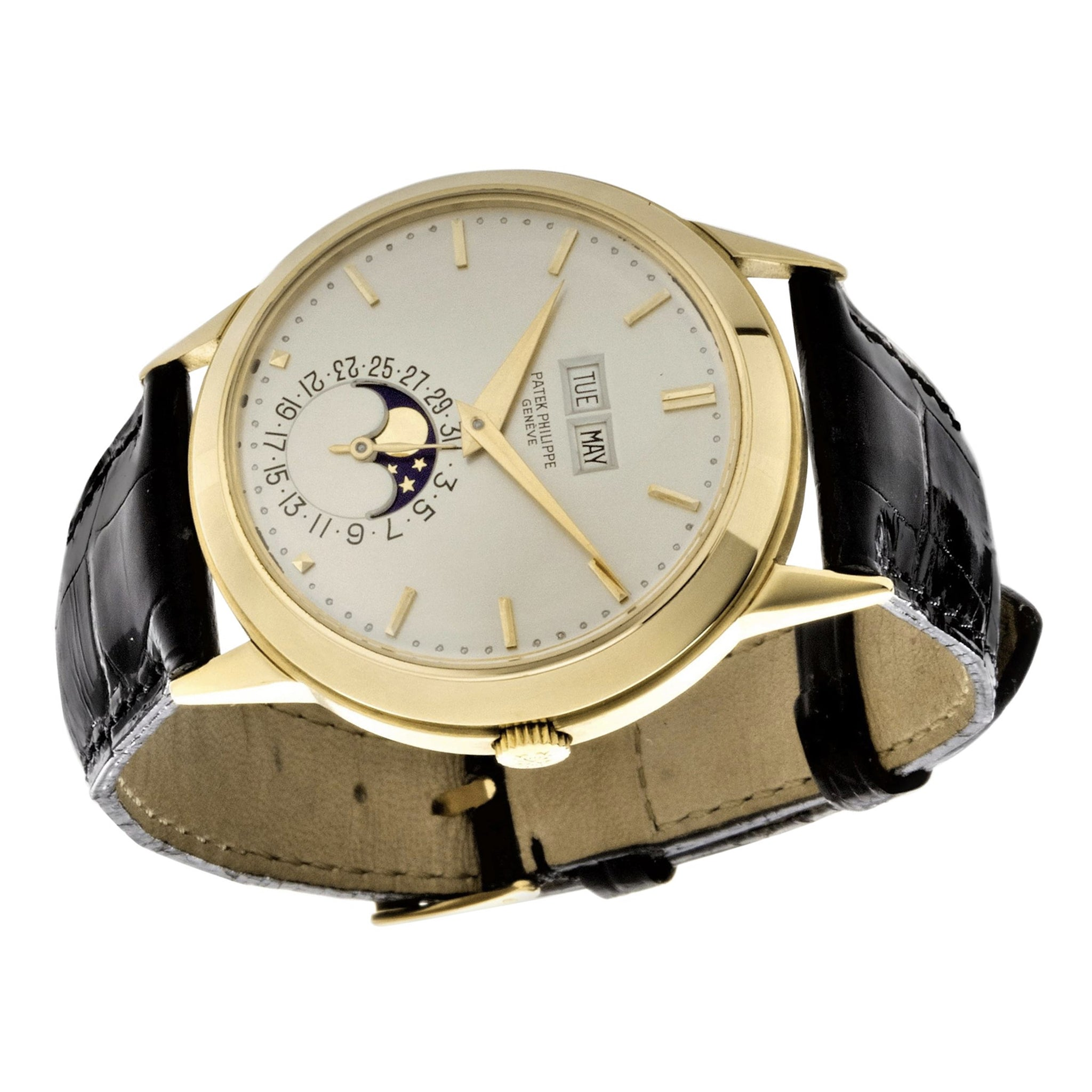 Patek Philippe 3448J Automatic Perpetual Calendar Watch