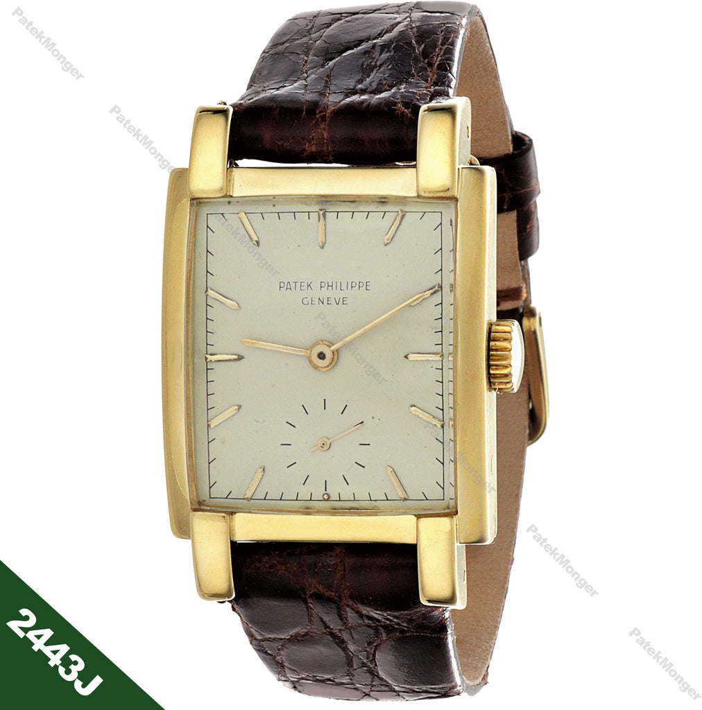 Patek Philippe 2443J Rectangular Watch circa 1953