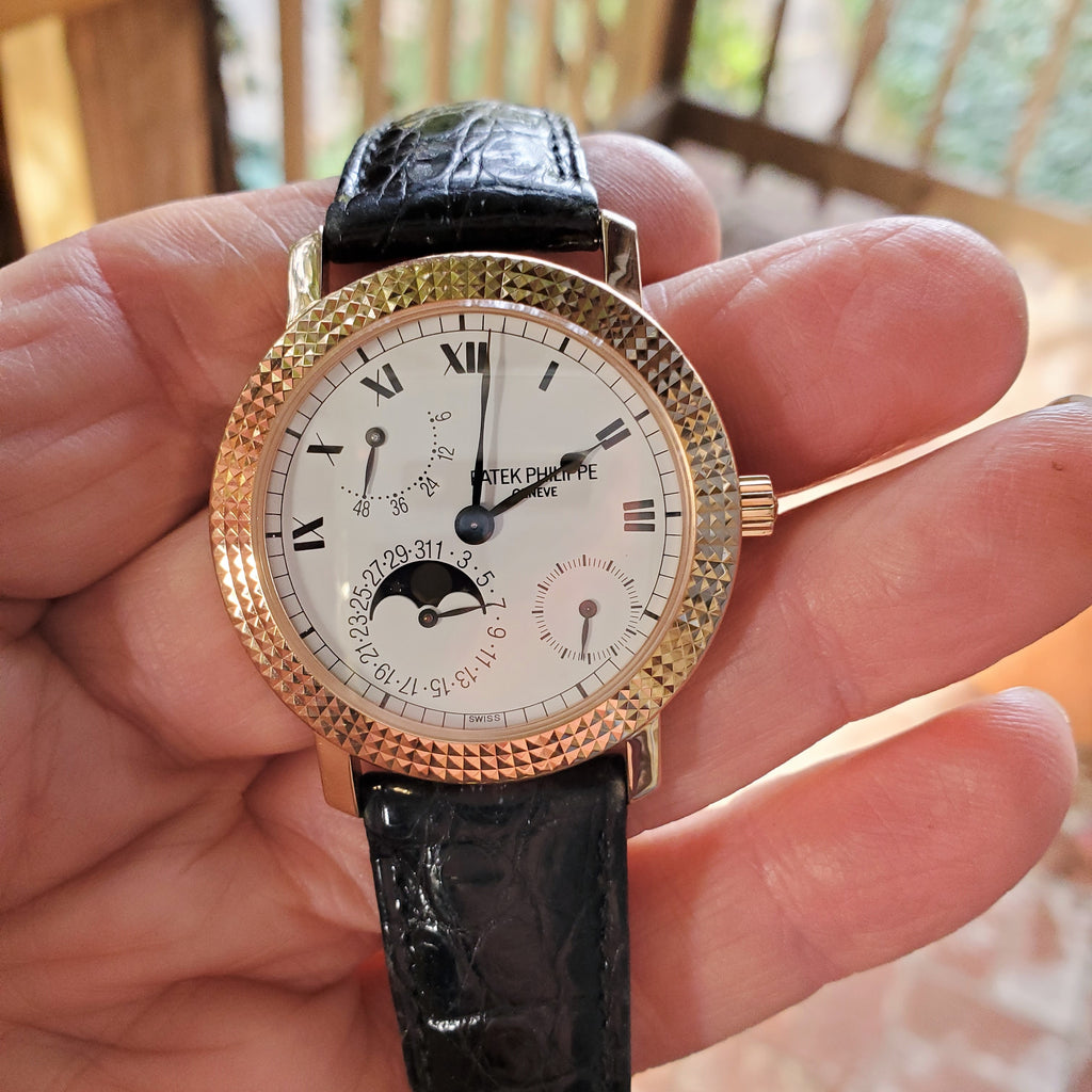 Patek Philippe 5057R 25th Anniversary Jubilee Special Edition Watch circa 1997