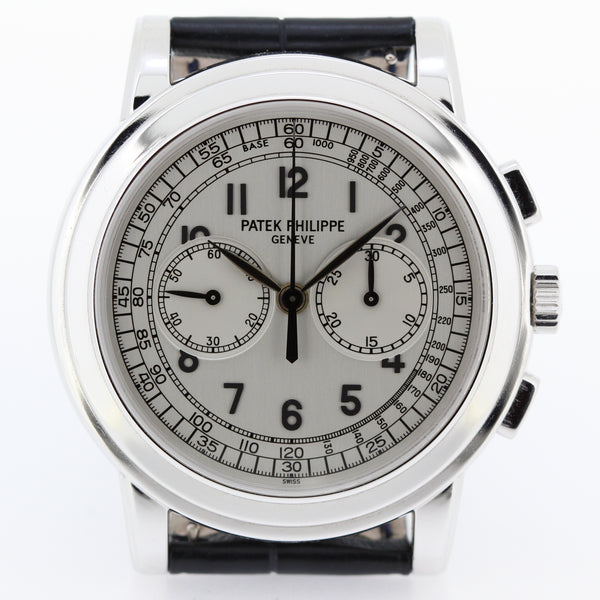 Patek Philippe 5070G Jumbo Chronograph Watch