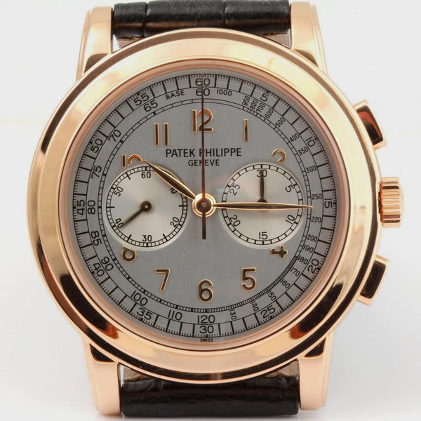 Patek Philippe 5070R Chronograph Watch Rose gold 42 mm Case Circa 2004
