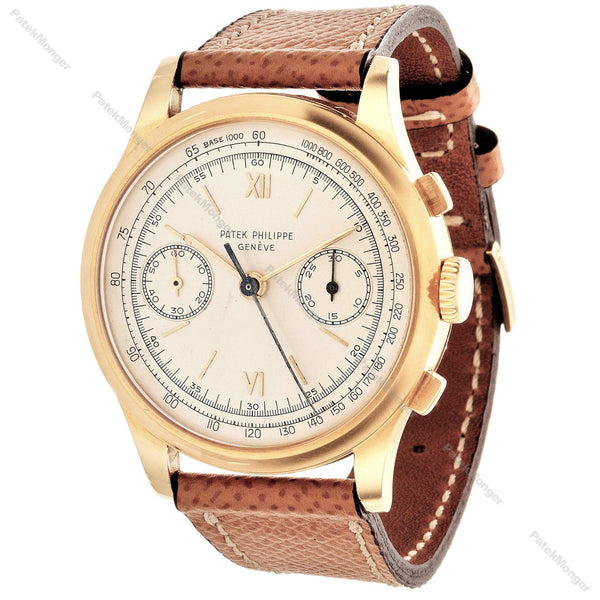 Patek Philippe 530J Jumbo Chronograph Watch.  Circa 1952