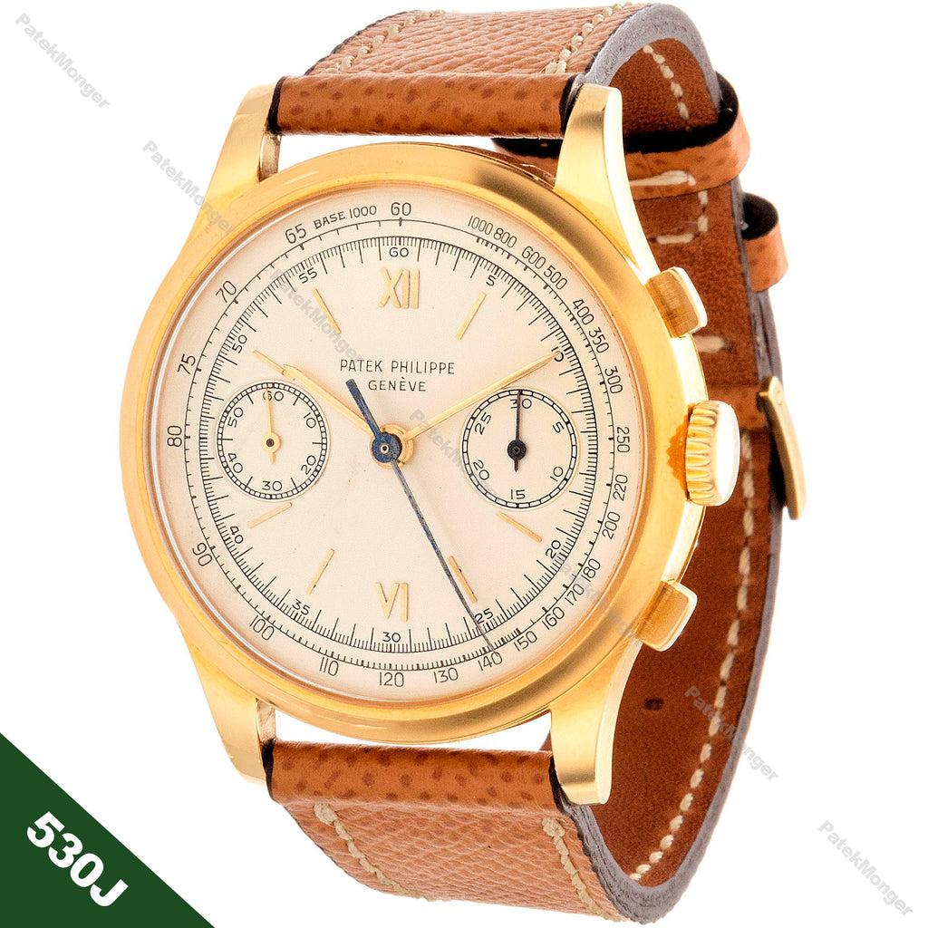 Patek Philippe 530J Chronograph Watch circa 1952