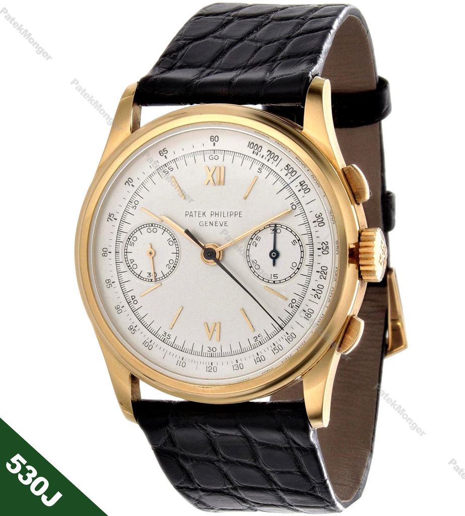Patek Philippe 530J Chronograph Watch circa 1946