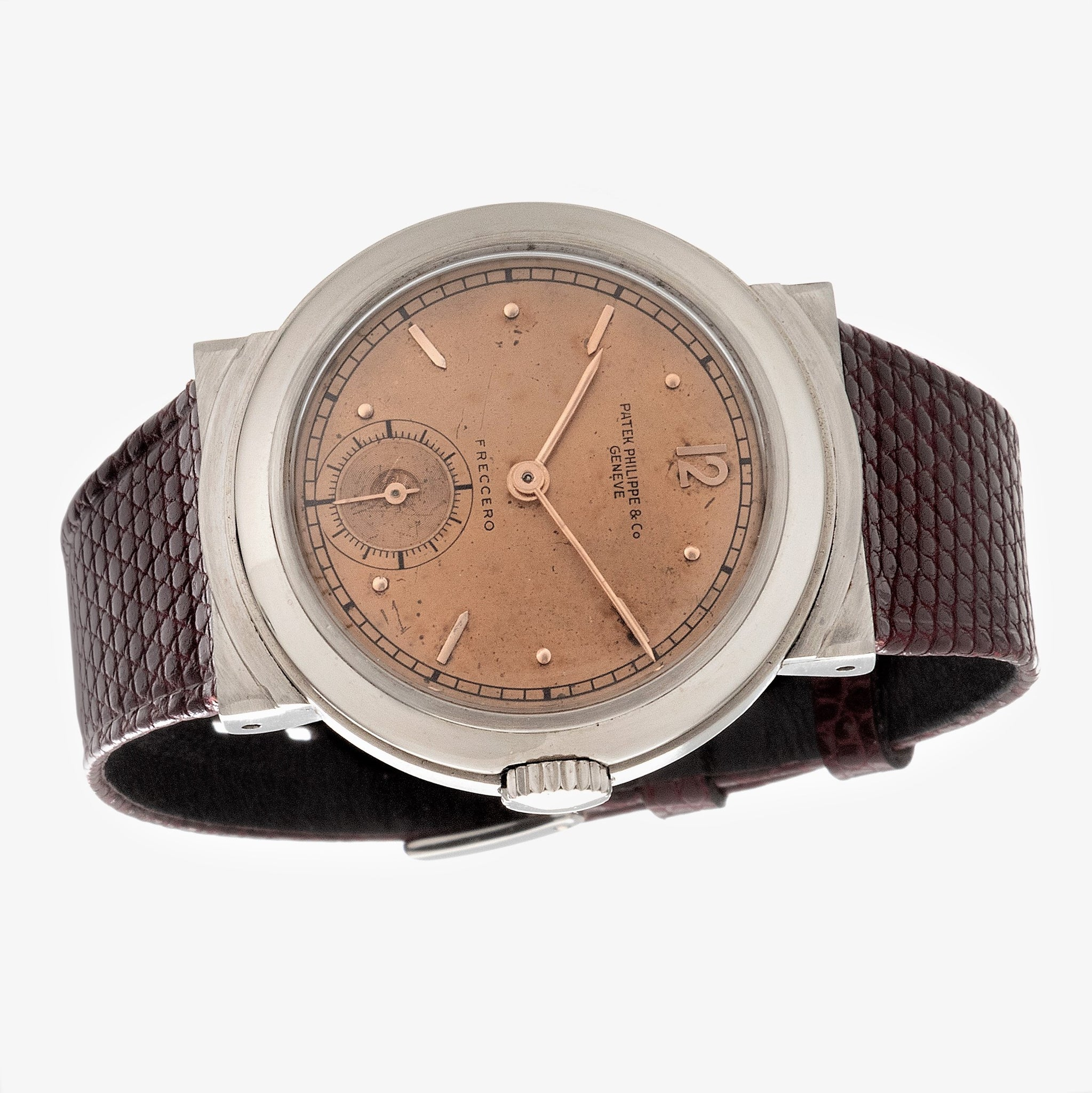 Patek Philippe 544A Stainless Steel Hooded Calatrava Watch