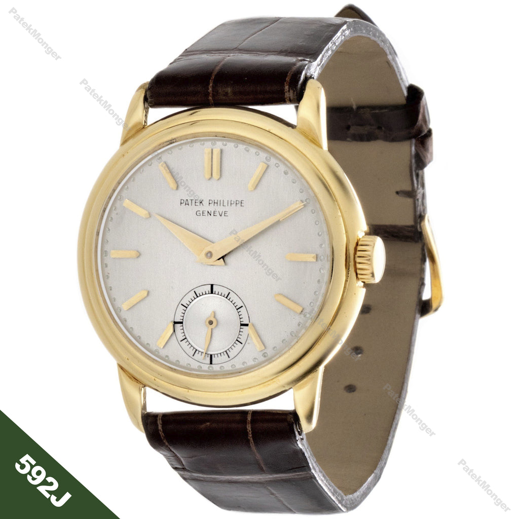 Patek Philippe 592J Calatrava Watch circa 1940