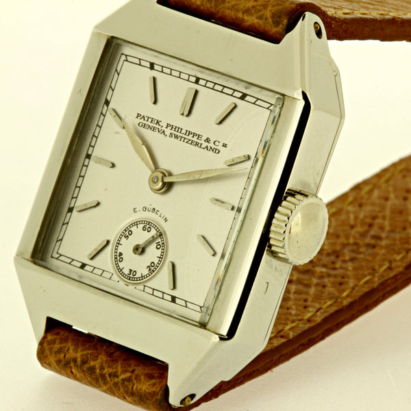 Patek Philippe 63G White Gold Art Deco Watch