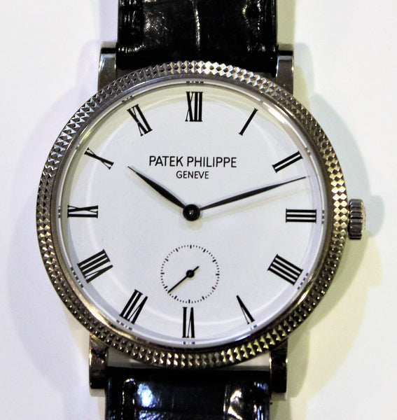 Patek Philippe 7119G, Ladies Calatrava, 31 mm  hobnail bezel Discontinued, Circa 2016
