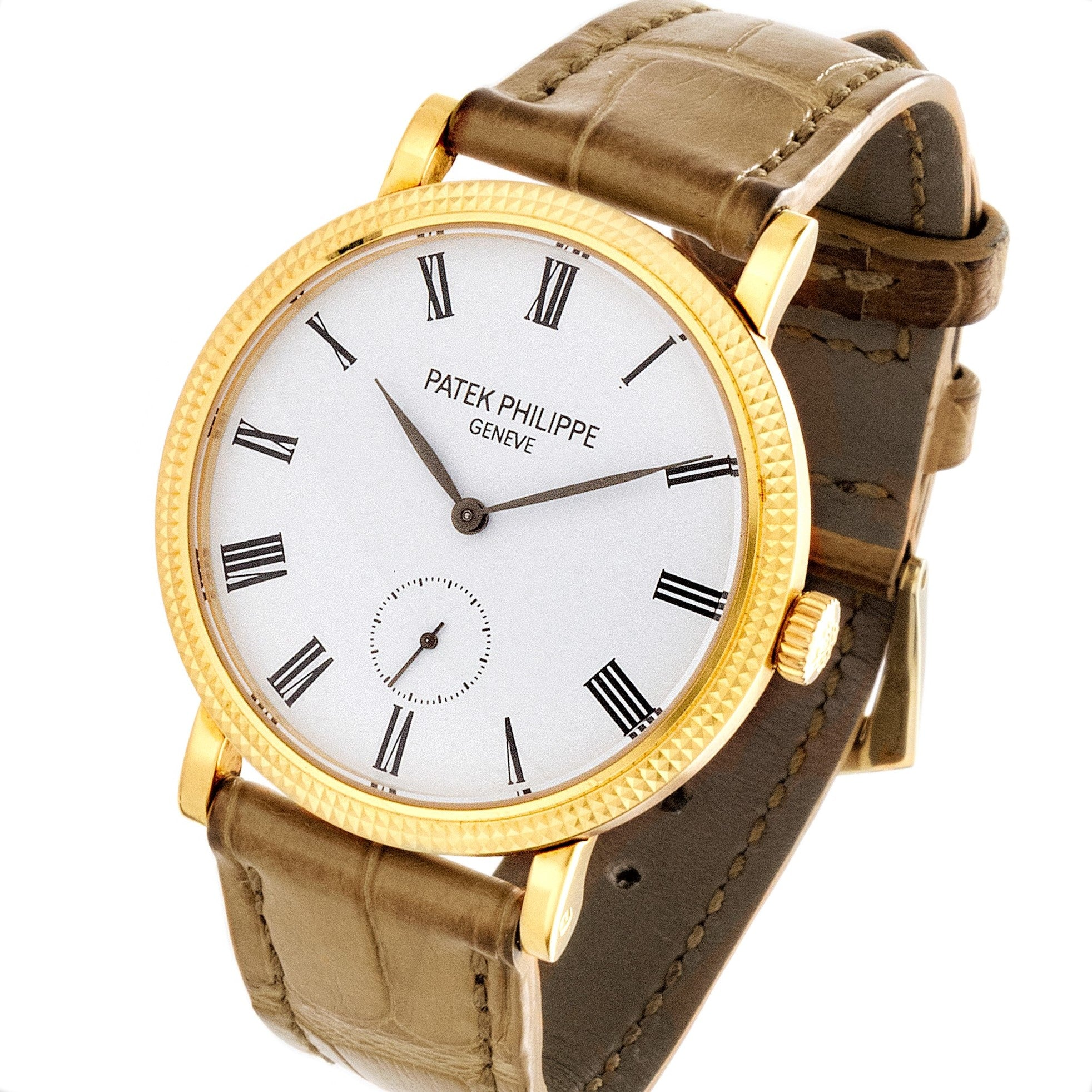 Patek Philippe 7119J Ladies Calatrava Watch C. 2014
