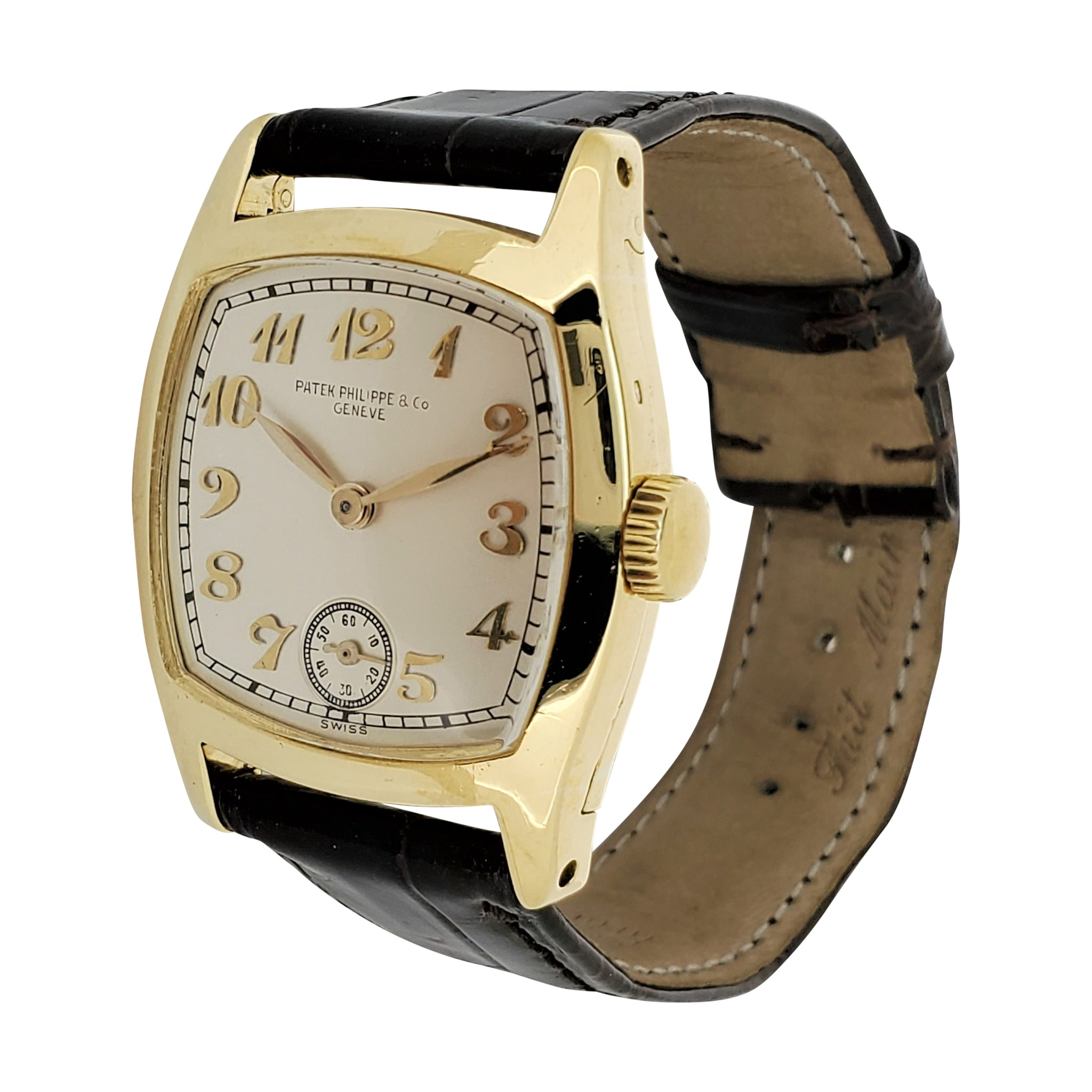 Patek Philippe Early No. 7 Cushion Vintage Watch. C. 1924
