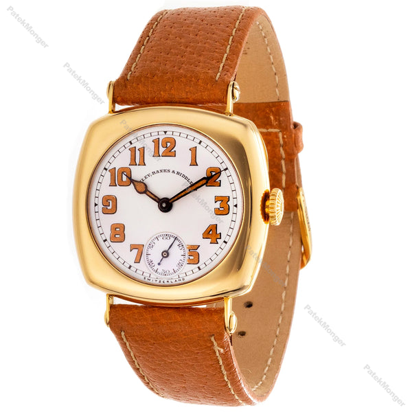 Patek Philippe Early No. 8 Cushion Vintage Watch Circa 1917