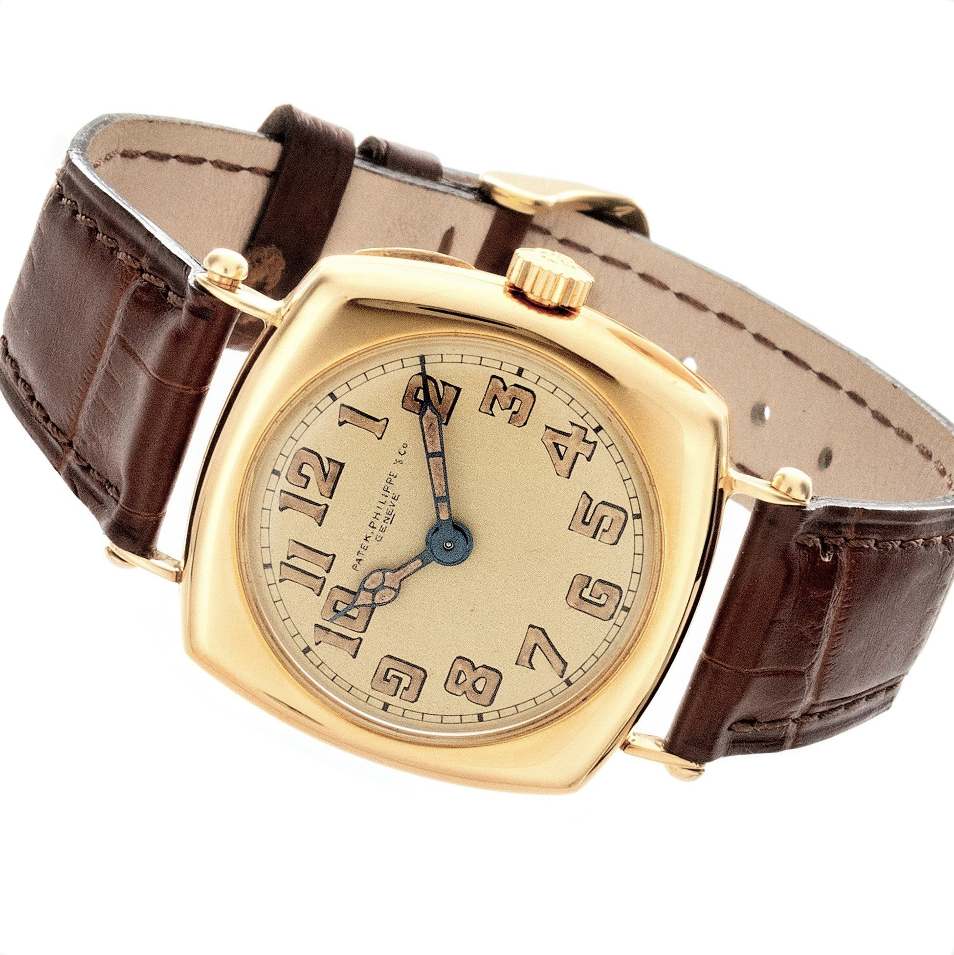 Patek Philippe No. 8 Cushion Vintage Watch Circa 1913