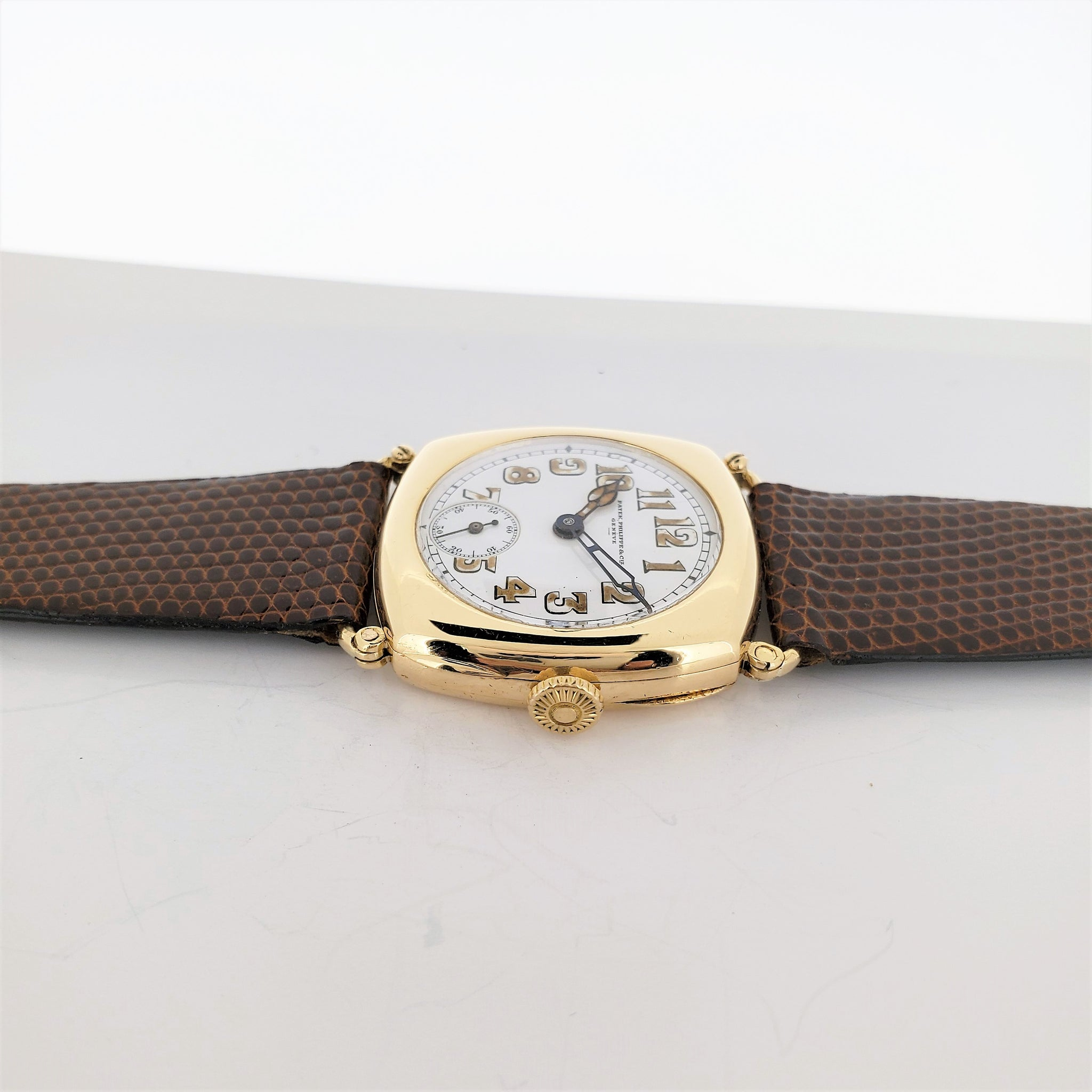 Patek Philippe Early No. 8 Cushion Vintage Watch Circa 1923