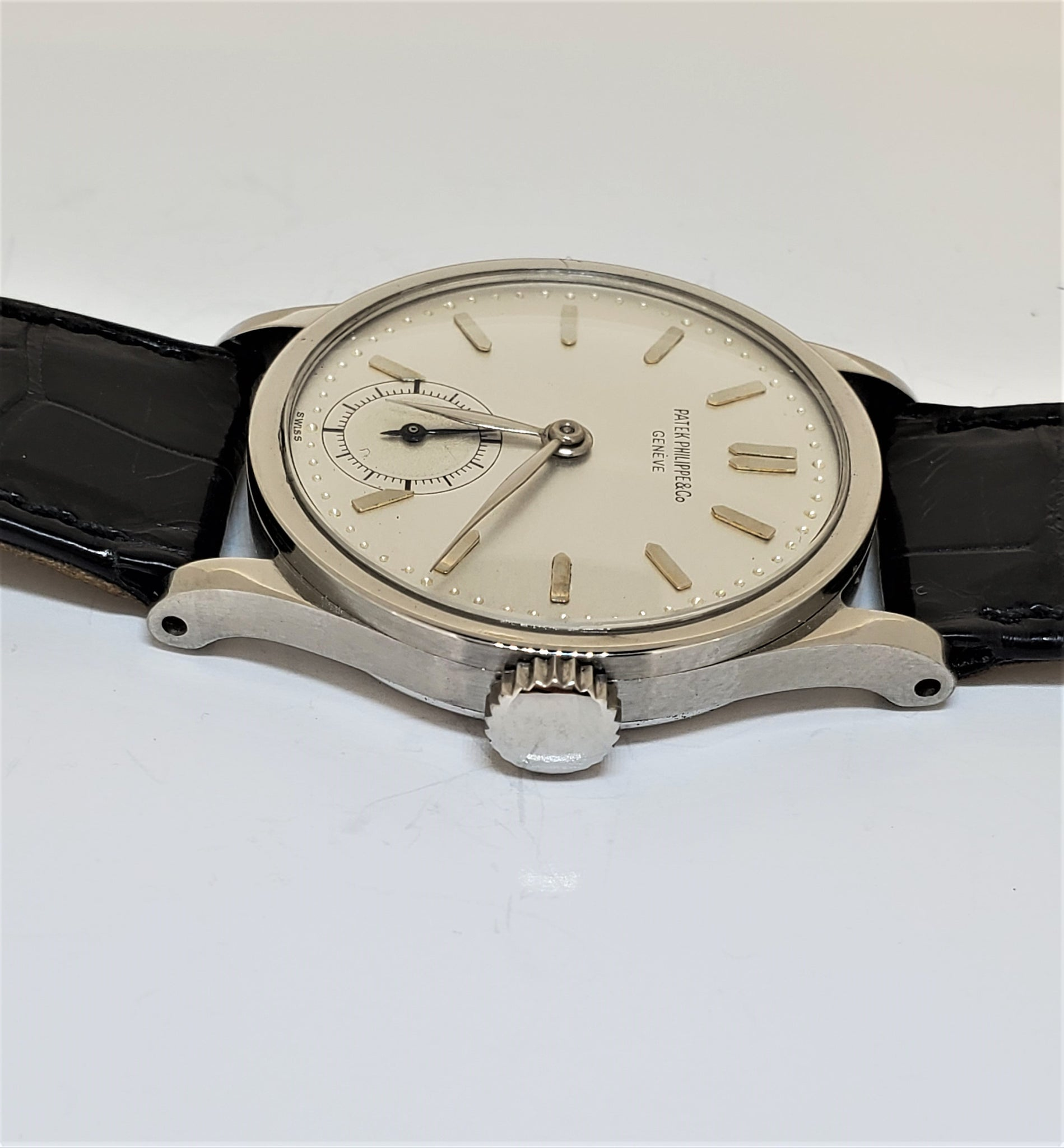 Patek Philippe 96A Stainless Steel Calatrava Watch