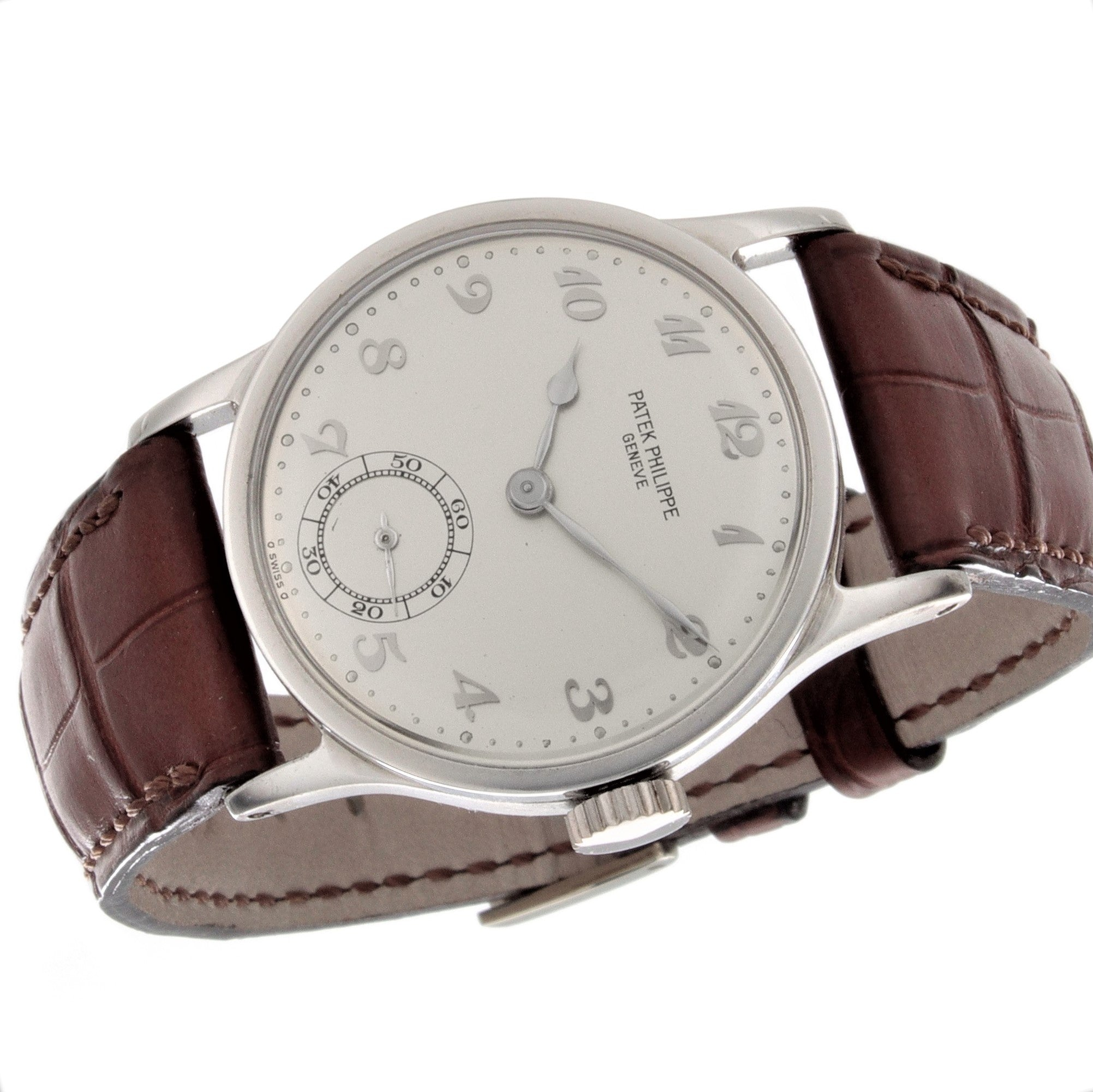 Patek Philippe 96P Platinum Calatrava Watch