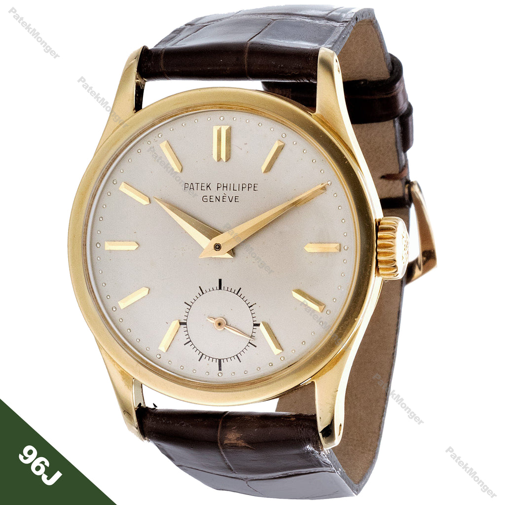 Patek Philippe 96J Calatrava Watch circa 1956
