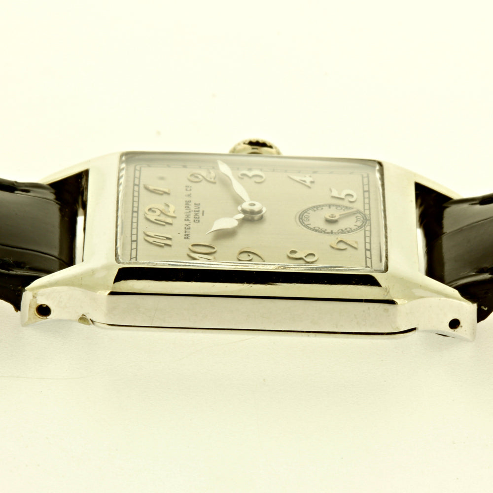 Patek Philippe White Gold Art Deco Watch