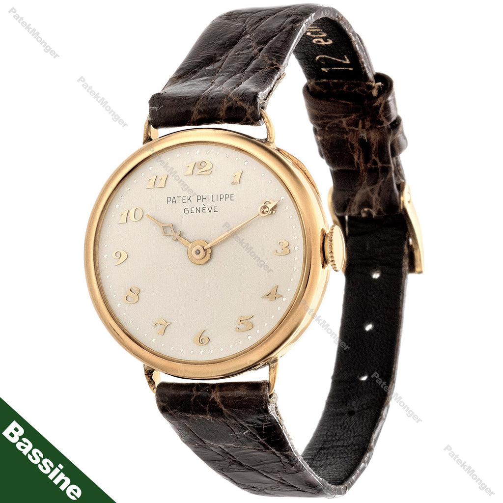 Patek Philippe Antique Ladies Bassine Case Watch circa 1922