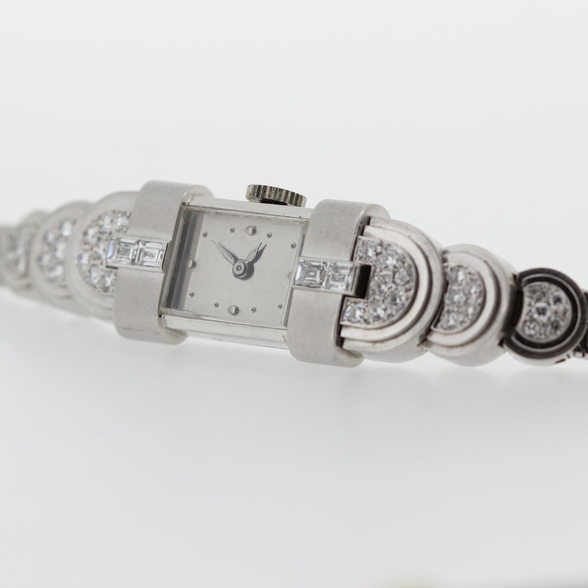 Patek Philippe Art Deco Platinum Ladies Watch
