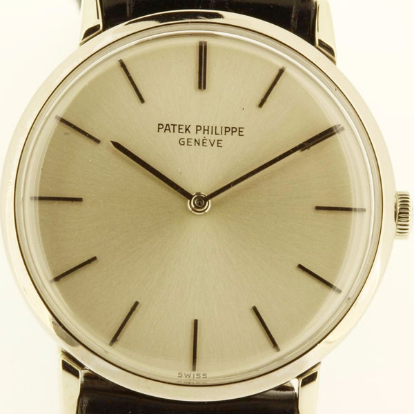 Patek Philippe 3537G Calatrava Watch
