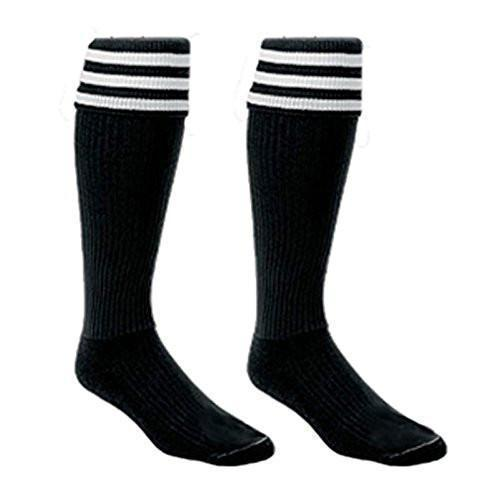 2 Pair Official Stiping Referee Soccer Socks