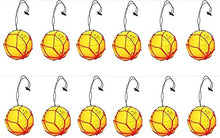 12 Soccer Ball Bungee Elastic Juggling Skill Training Net Handle