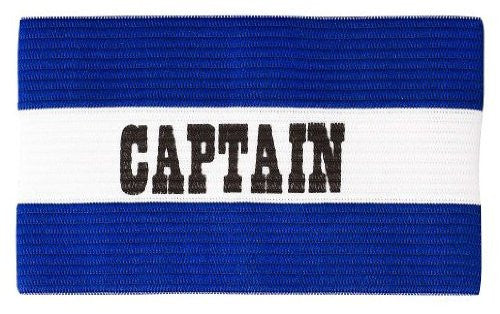 Champro Captain's Arm Band (Royal/White Youth)