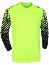Soccer Goalie Shirt Lightweight Fabric Padded Chest and Elbows