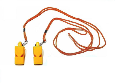 2 Whistle Safety Loud Pealess Outdoor Survival Soccer Boat Safety Lifeguard Rescue Marine Emergency
