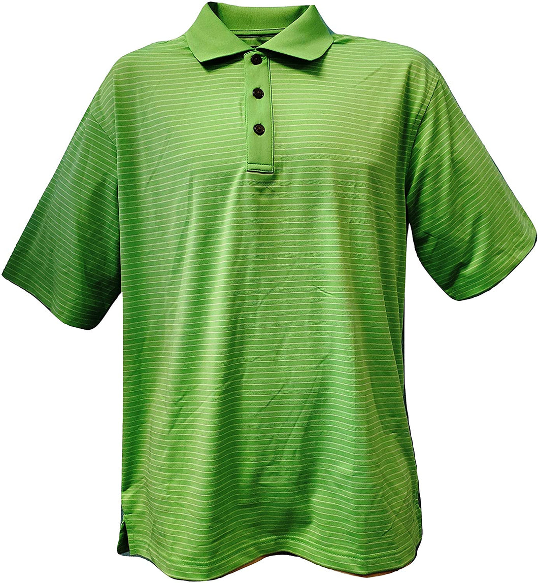 Mens Pin Stripe Polo Shirt