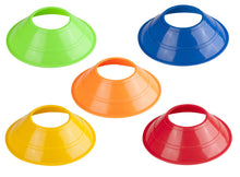 1 Stop Soccer Set of 10 Agility Mini Disc Cones Perfect 5""