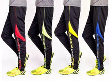 Training pants Soccer Fluorescence Green Black