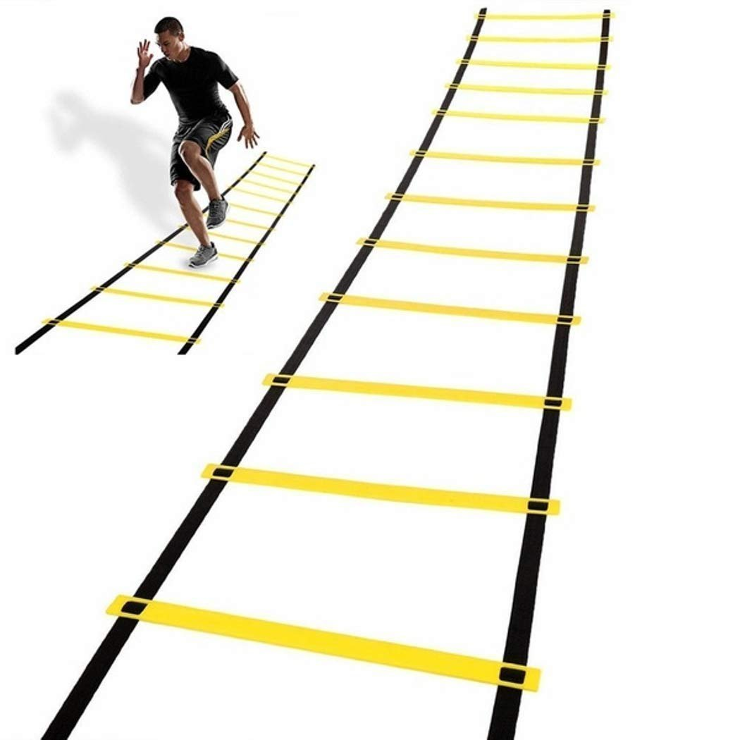 1 Stop Soccer Agility Ladder Training Equipment Set Improve Speed Power and Strength
