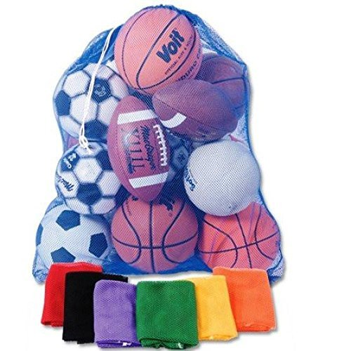1 Stop Soccer 5 Heavy Duty Mesh Bag 30